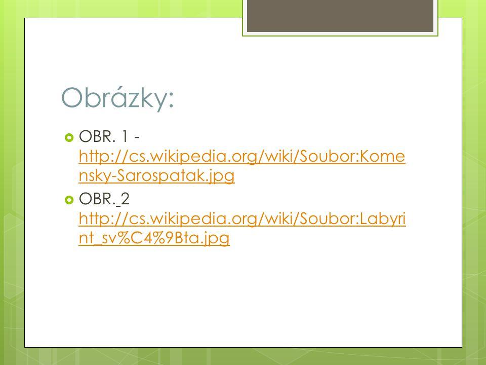 Obrázky:  OBR.