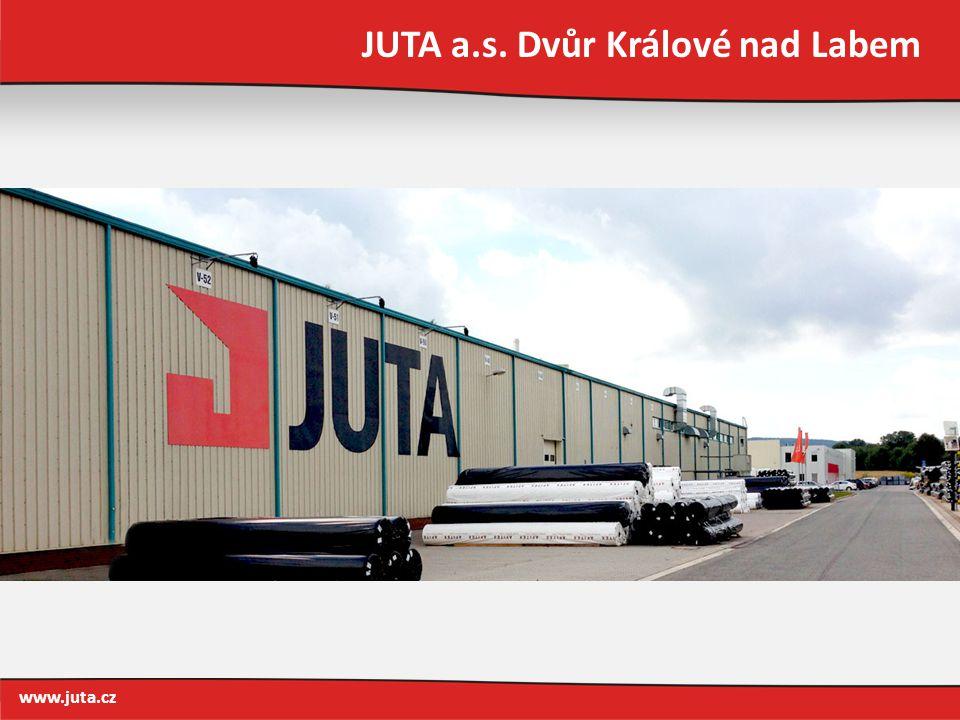 JUTA a.s. Dvůr Králové nad Labem www.juta.cz