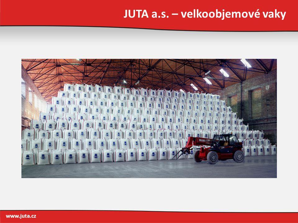 JUTA a.s. – velkoobjemové vaky www.juta.cz