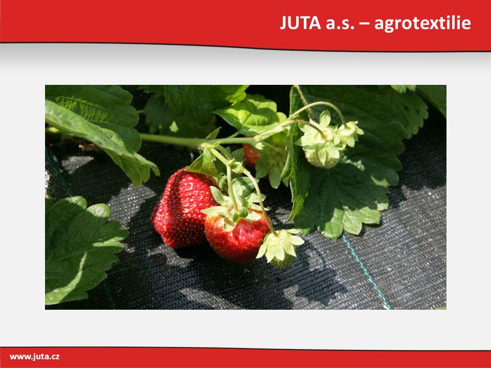 JUTA a.s. – agrotextilie www.juta.cz