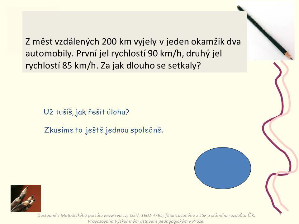 8 Jsou to tři dopravní situace Dostupné z Metodického portálu www.rvp.cz, ISSN: 1802-4785, financovaného z ESF a státního rozpo č tu Č R.