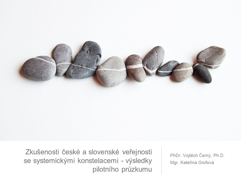 Zkušenosti české a slovenské veřejnosti se systemickými konstelacemi - výsledky pilotního průzkumu PhDr.