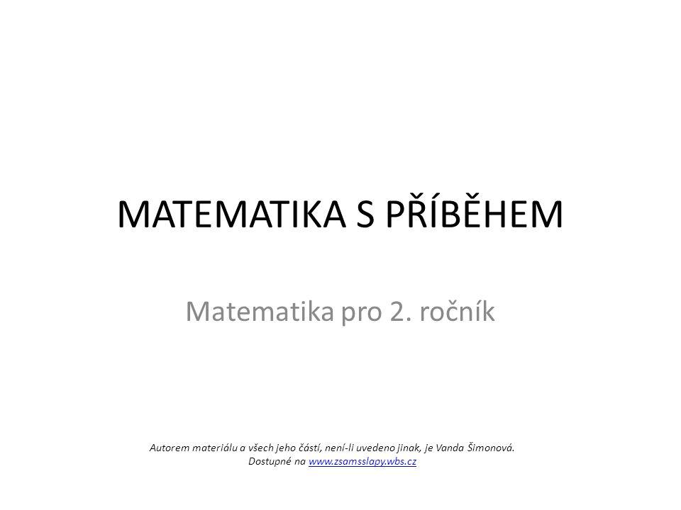 Autorem materiálu a všech jeho částí, není-li uvedeno jinak, je Vanda Šimonová. Dostupné na www.zsamsslapy.wbs.czwww.zsamsslapy.wbs.cz MATEMATIKA S PŘ