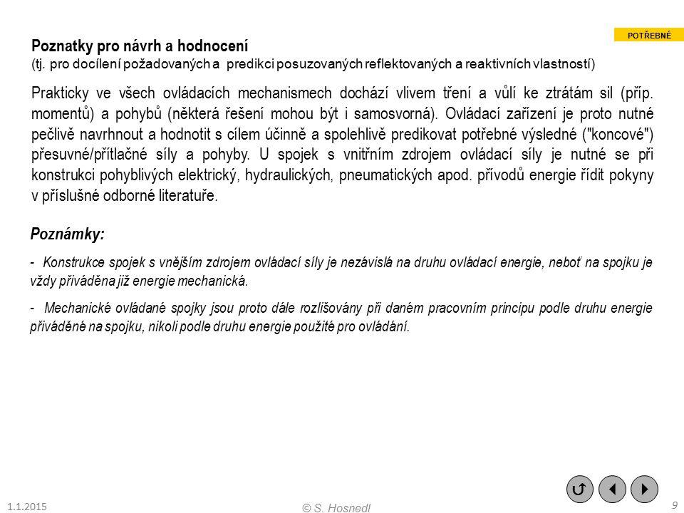 (B) Elektromagneticky ovládané kotoučové třecí spojky příklad jednostranné elektromagneticky zapínané/pružinami vypínané spojky (se sběracími kroužky):    30 © S.