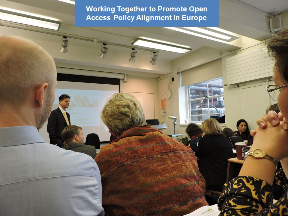 10 Working Together to Promote Open Access Policy Alignment in Europe