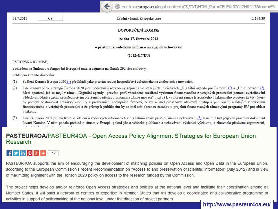 http://foster.czu.cz/ Work Package 3 report: Open Access Policies