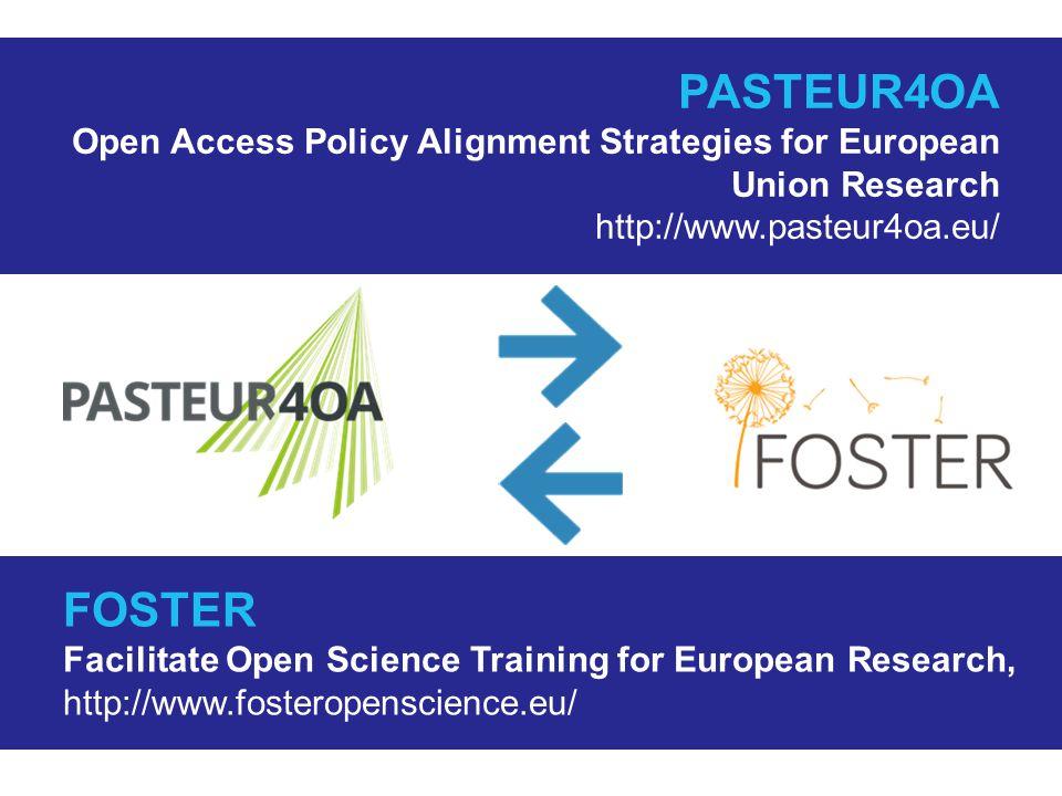 Východisko: otevřený přístup v Evropě  Rozdílná úroveň rozvoje otevřeného přístupu v evropských zemích (nejen v EU)  Výrazné rozdíly v oblasti tvorby a implementace politik otevřeného přístupu  Nedostatečné povědomí o otevřeném přístupu u tvůrců politik výzkumu  Málo informací o účinnosti politik otevřeného přístupu – brzda dalšího rozvoje a sjednocení těchto politik v Evropě