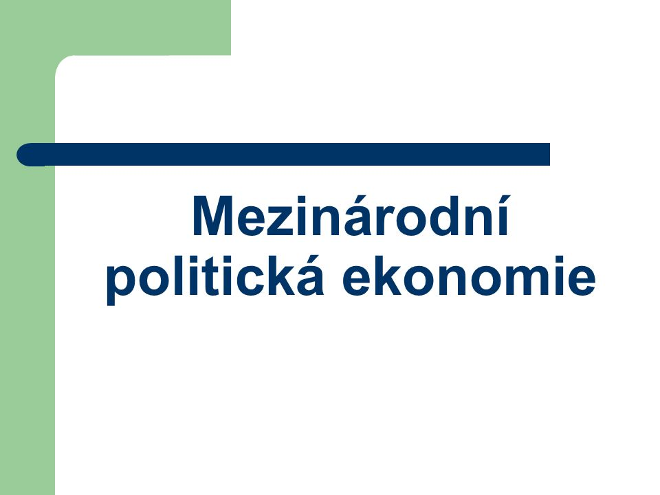 Řešení konfliktů v MV Samotný Výzkum míru až od 50.let 20.st.