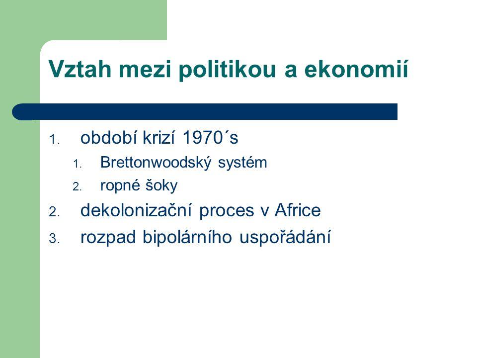 OECD Organizace pro ekonomickou spolupráci a rozvoj – Sdružení rozvinutých států uznávající principy tržní ekonomiky a zastupitelské demokracie – Diskusní fórum pro výměnu ekonomických informací – sbírá informace o vývoji ekonomiky-usnadnění spolupráce – Koordinace s bojem proti korupci v členských státech – Vznik z OEEC (1961) – http://www.oecd.org/home/0,2987,en_2649_201185_1_1_1 _1_1,00.html http://www.oecd.org/home/0,2987,en_2649_201185_1_1_1 _1_1,00.html