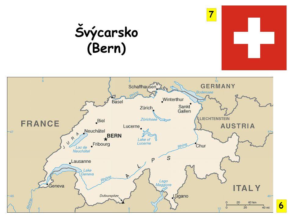 Jura, Alpy ( Monte Rossa, Matterhorn), Švýcarská plošina Aletschský ledovec - nejdelší údolní ledovec E.
