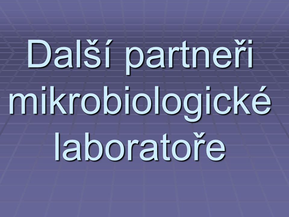 Další partneři mikrobiologické laboratoře