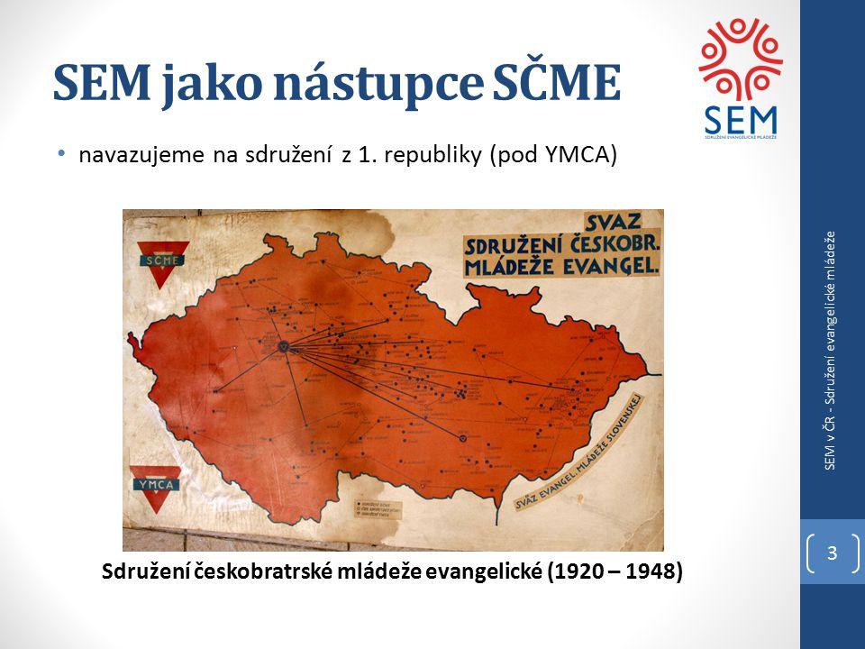 SEM jako nástupce SČME navazujeme na sdružení z 1.