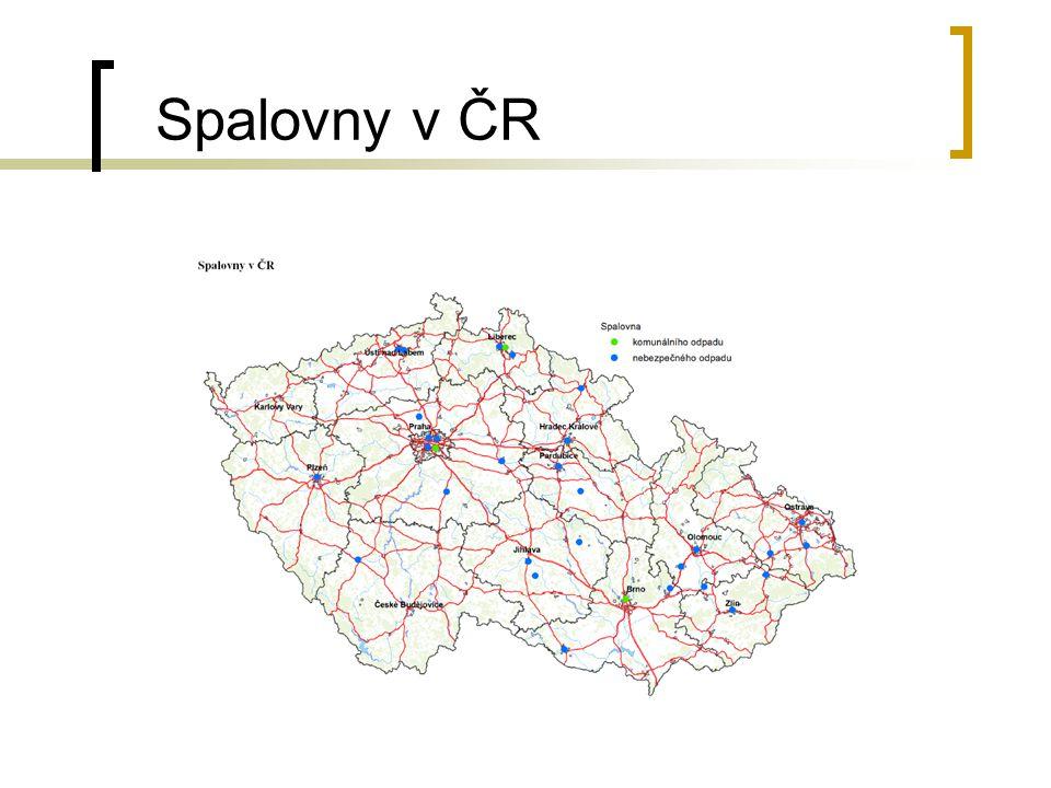 Spalovny v ČR