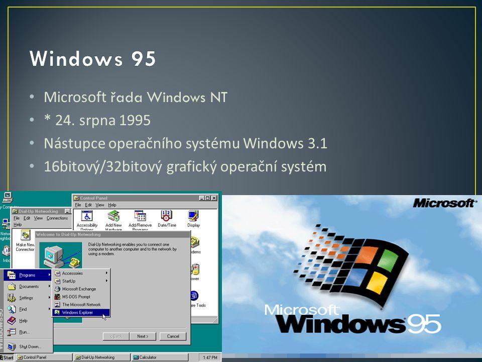 Microsoft řada Windows NT * 24.
