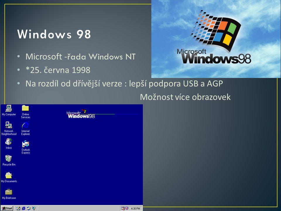 Microsoft - řada Windows NT *25.