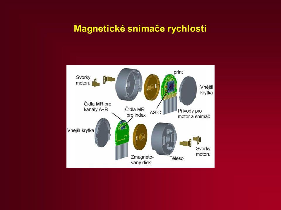 Magnetické snímače rychlosti