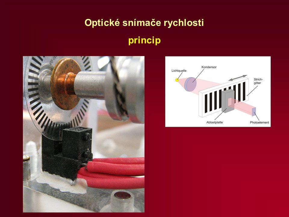 Optické snímače rychlosti princip