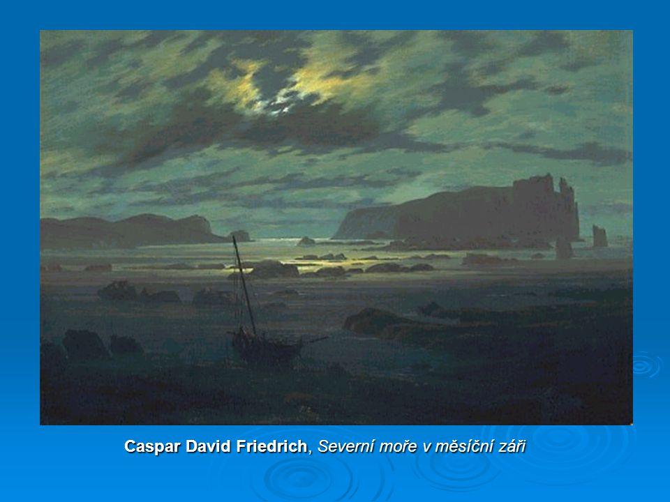 Caspar David Friedrich, Severní moře v měsíční záři