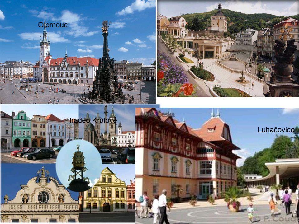 Olomouc Hradec Králové Luhačovice