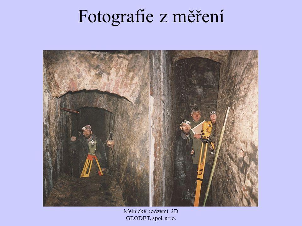 Fotografie z měření