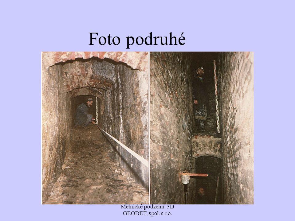 Mělnické podzemí 3D GEODET, spol. s r.o. Foto podruhé