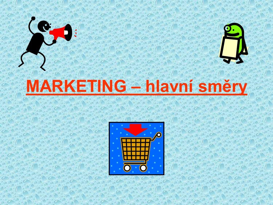 Marketing vznikl ve 20.letech 20.
