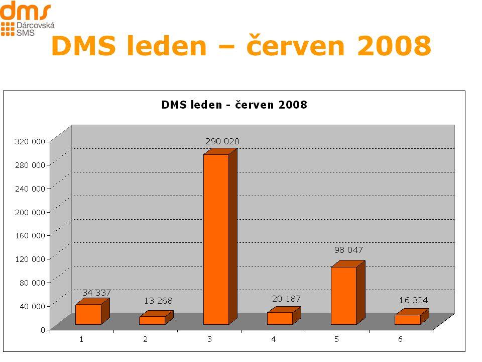 DMS leden – červen 2008