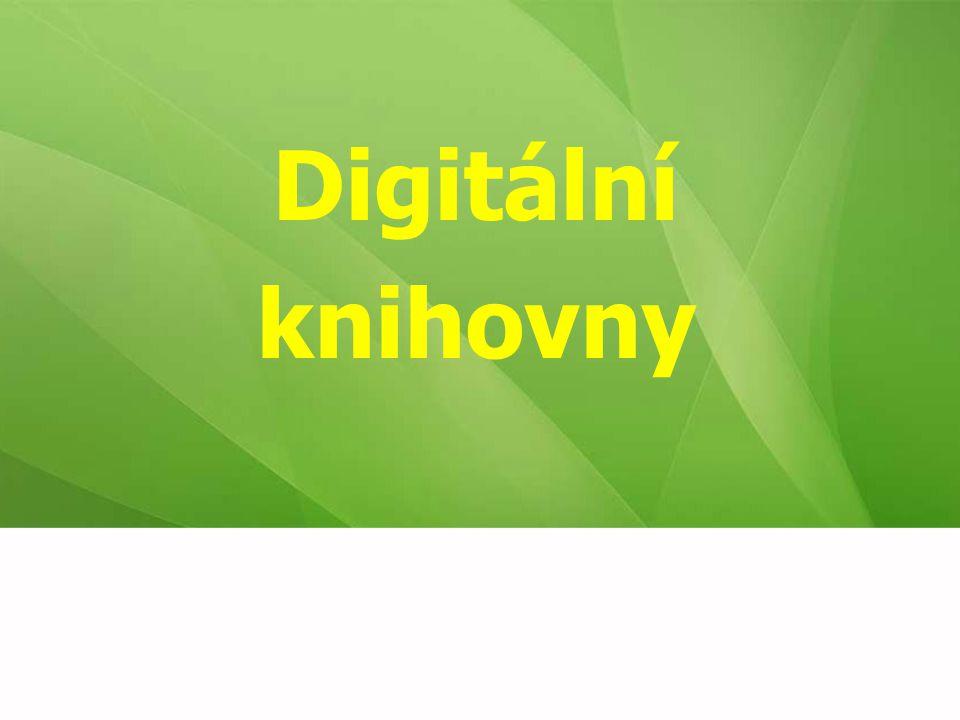 Digitální knihovny