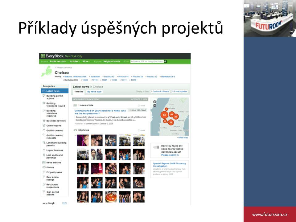 Příklady úspěšných projektů www.futuroom.cz