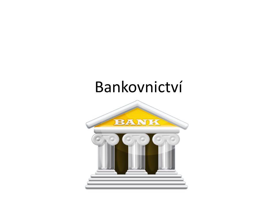 Co je bankovní systém.