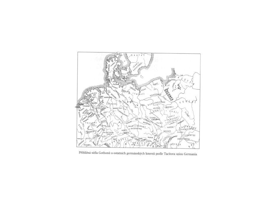 Tacitovy informace Krále si Germáni vybírali podle vznešenosti, vojevůdce na základě jejich statečnosti.