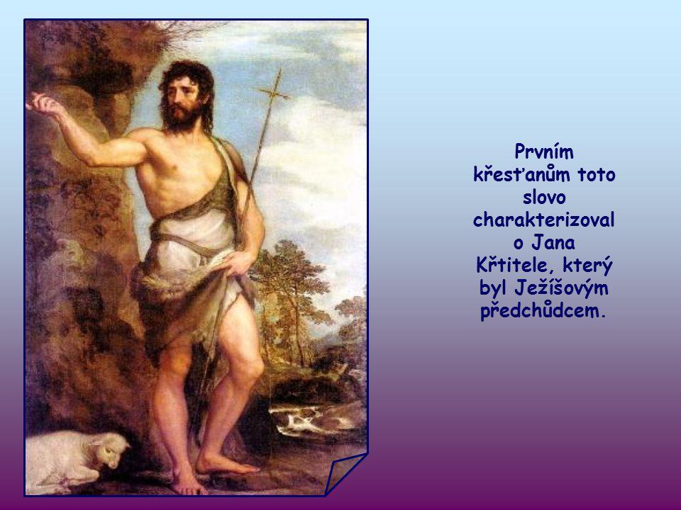"""V tomto adventním období je tu nové """"slovo"""", podle kterého máme žít. Evangelista Lukáš ho přejímá od Izajáše - proroka útěchy."""