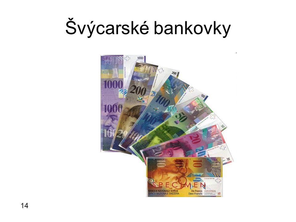 Švýcarské bankovky 14