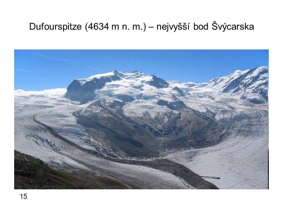 Dufourspitze (4634 m n. m.) – nejvyšší bod Švýcarska 15