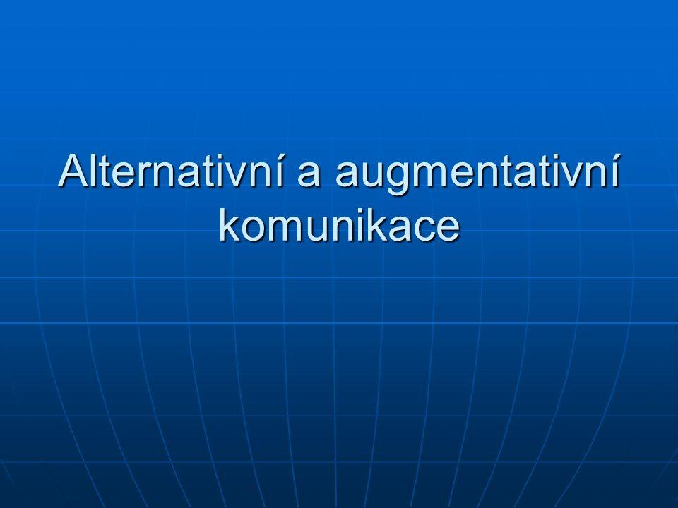 Alternativní a augmentativní komunikace