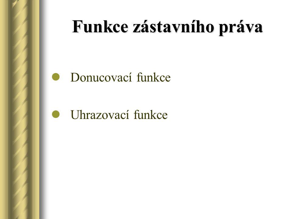 Druhy Fiducia Pignus Hypotheca