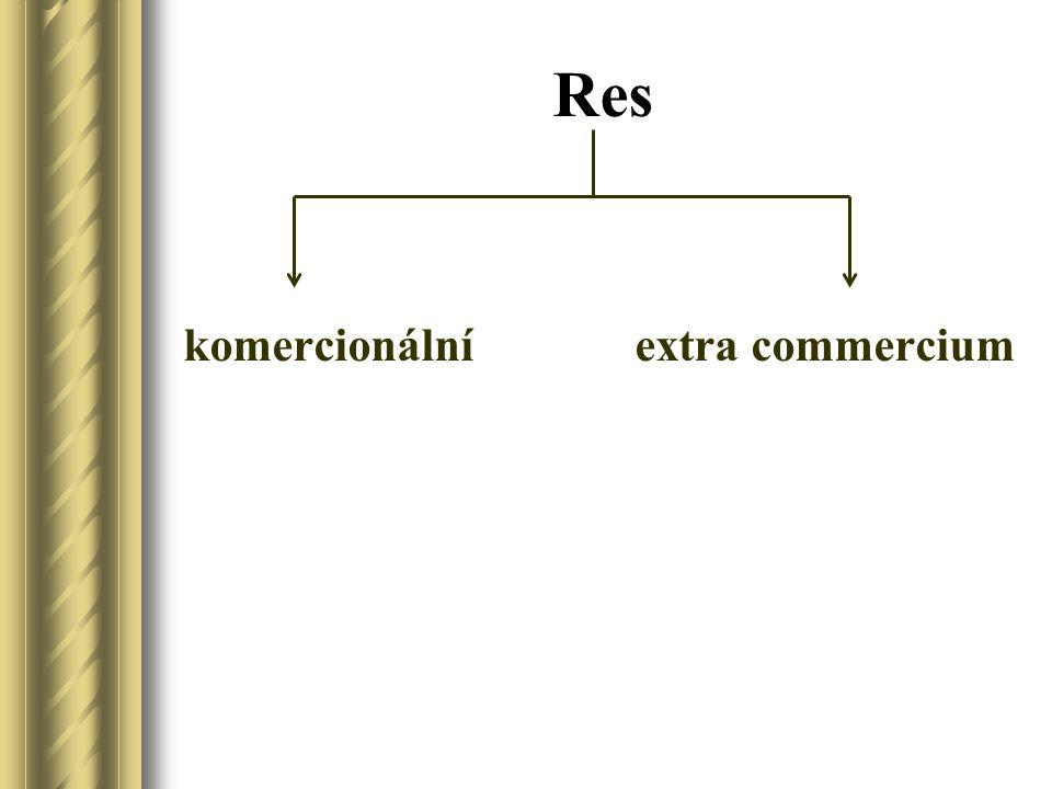 Res komercionální extra commercium