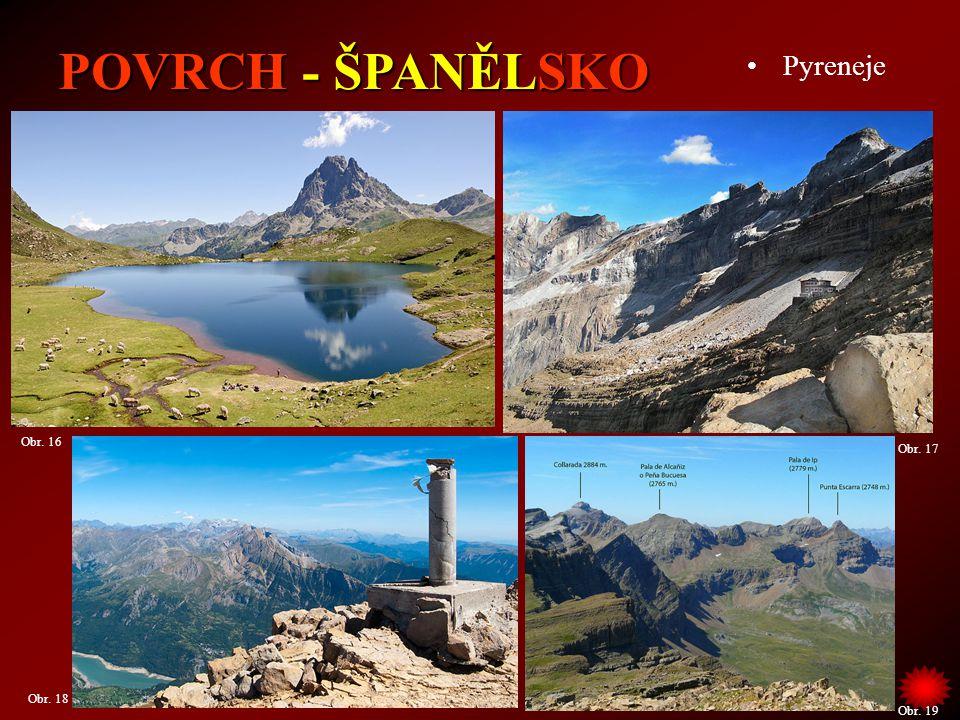 Španělsko se soustředí na zemědělství, průmysl i cestovní ruch.