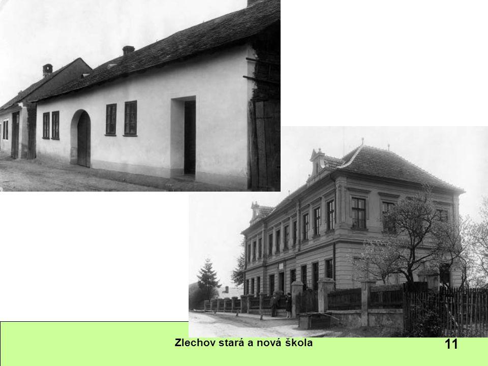 Zlechov stará a nová škola 11