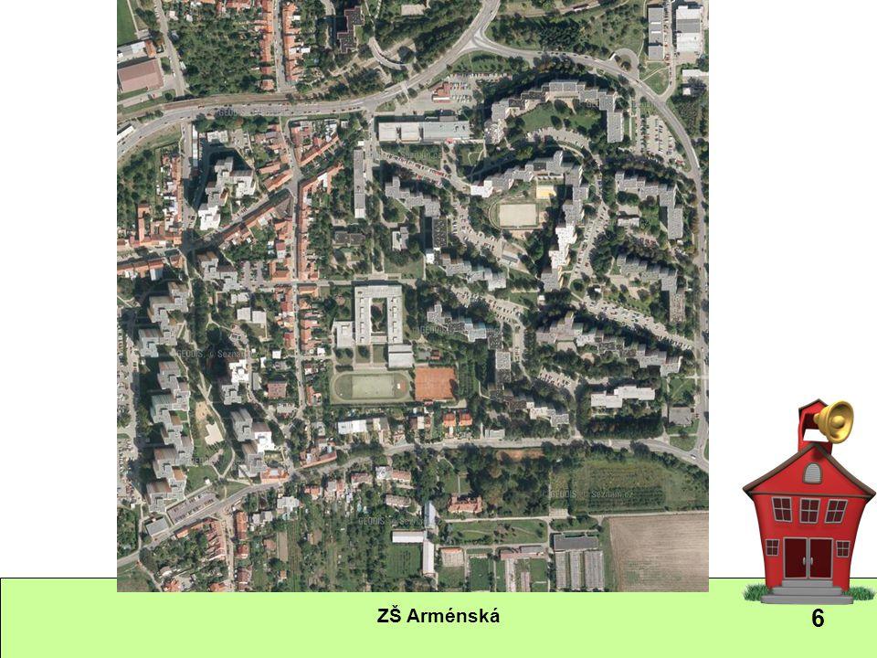 7 Okolí školy Škola je spojena se svým okolím, které kromě viditelných znaků odráží i sociální strukturu obyvatelstva.