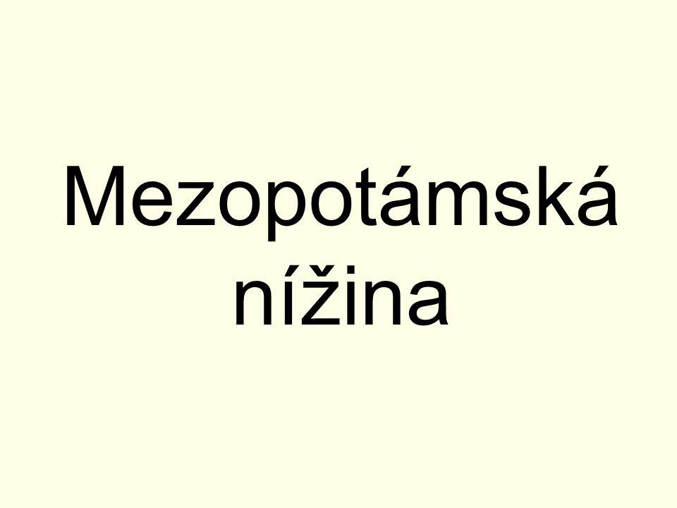Mezopotámská nížina