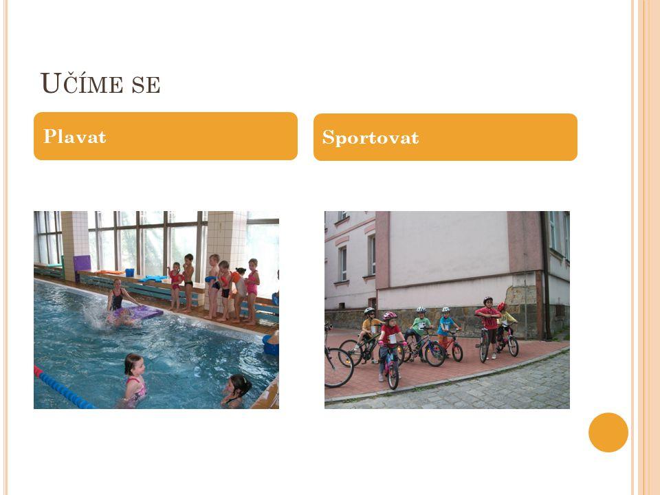 U ČÍME SE Plavat Sportovat
