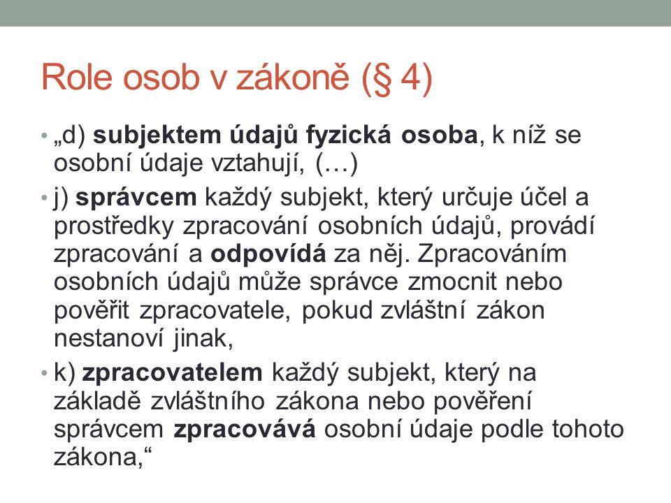Další zdroje k tématu Občanský zákoník, §§ 12-13 ochrana soukromí, osobnosti apod.