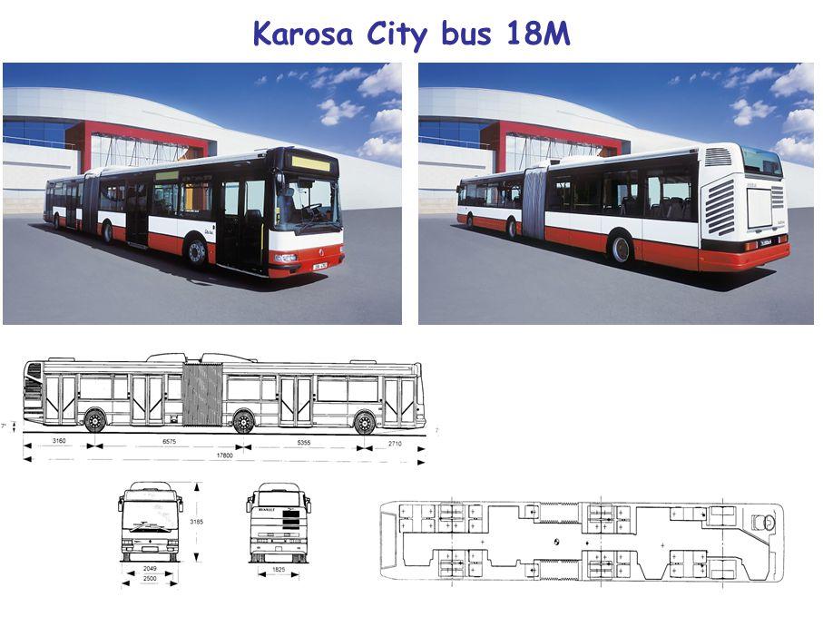 Karosa City bus 18M