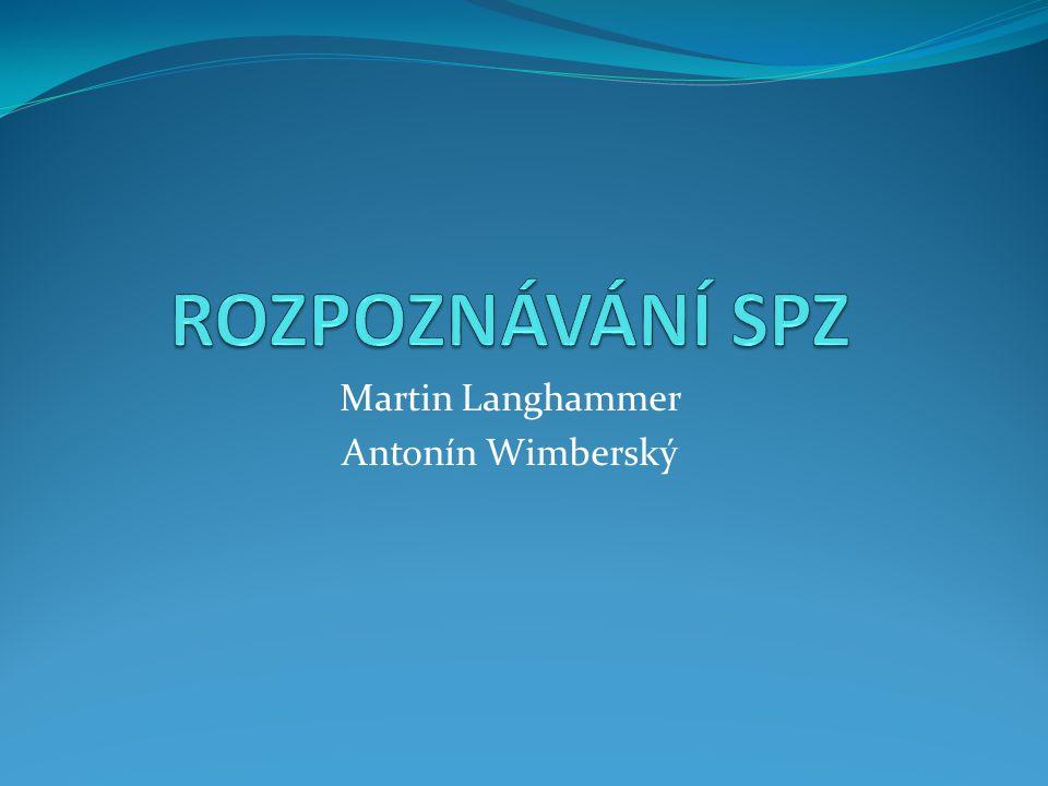 Martin Langhammer Antonín Wimberský