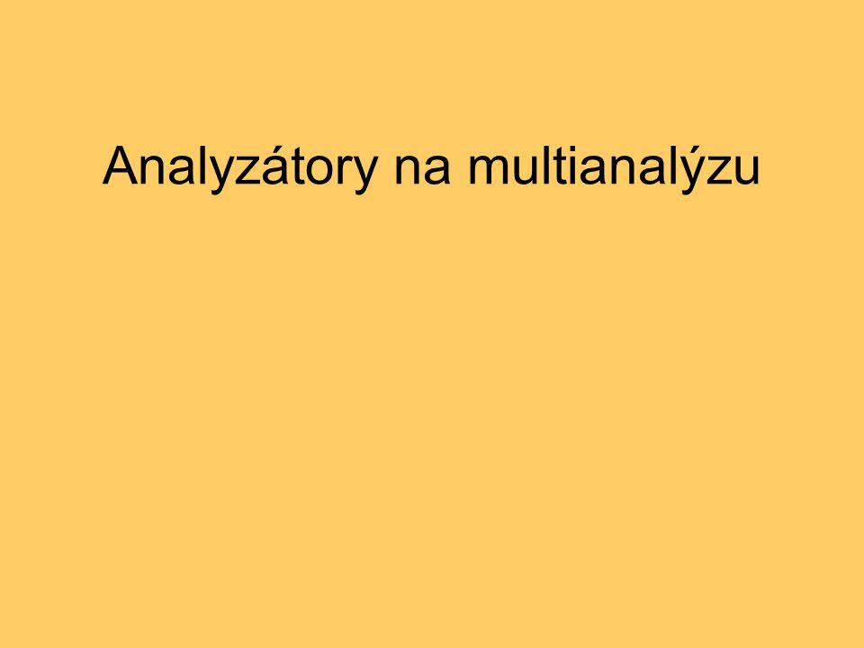 Analyzátory na multianalýzu