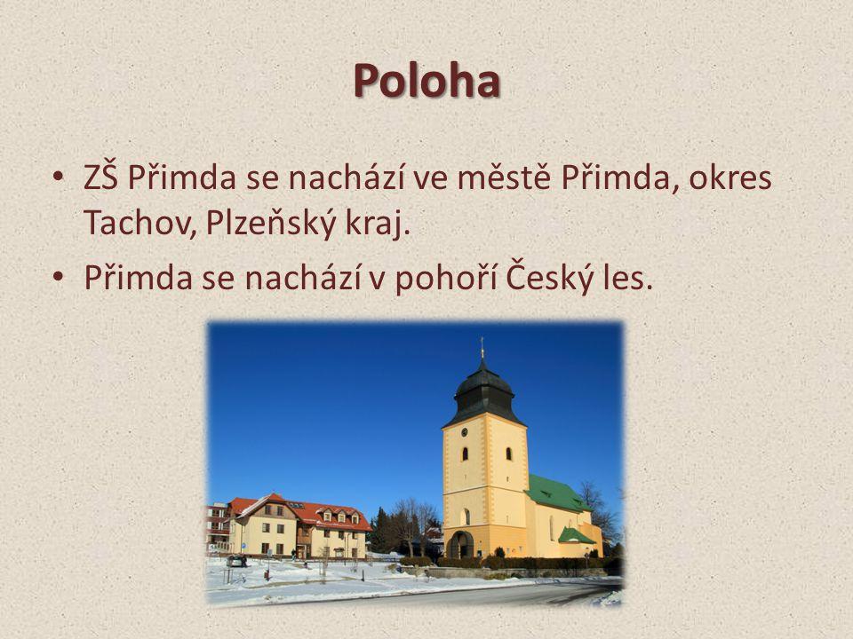 Poloha ZŠ Přimda se nachází ve městě Přimda, okres Tachov, Plzeňský kraj.