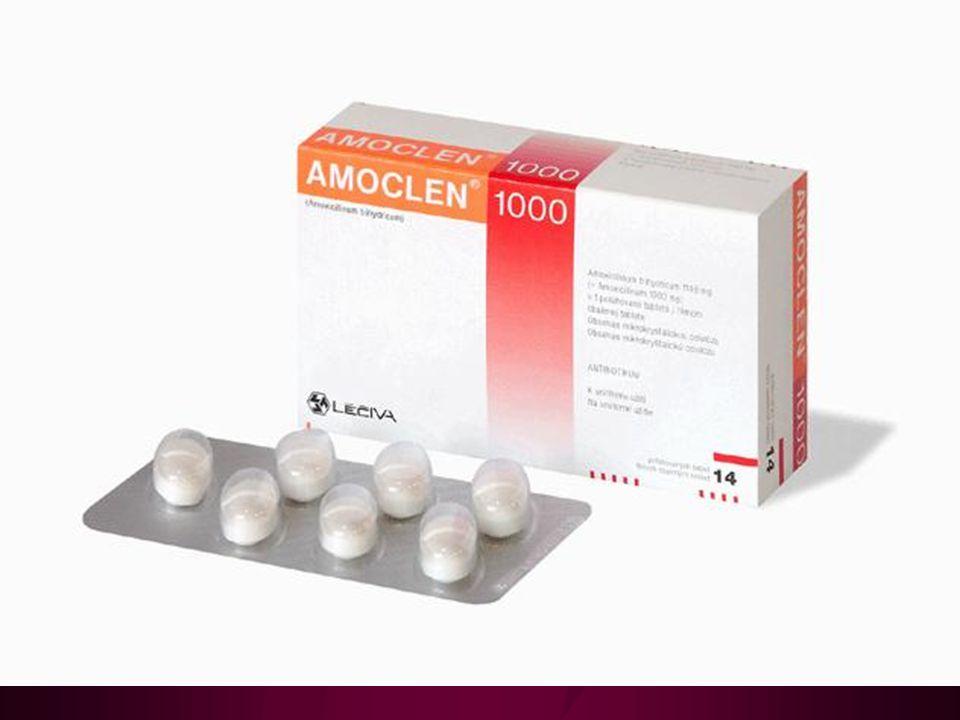 Inhibitory betalaktamáz – 1 Působíme-li samotným antibiotikem, je inaktivováno bakteriální betalaktamázou.