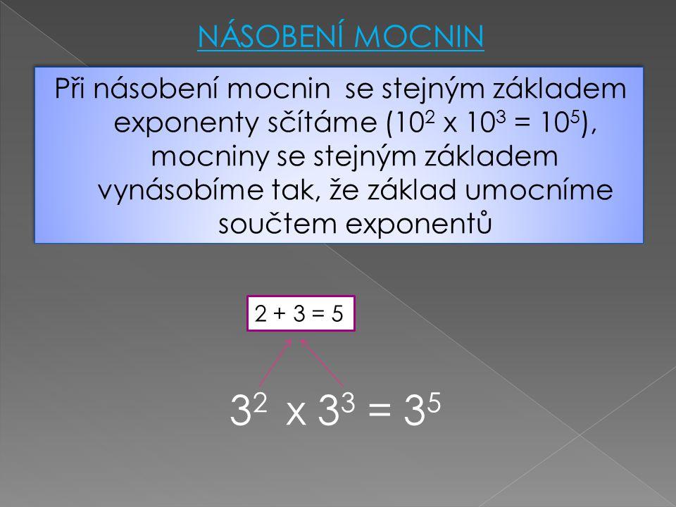 PŘÍKLADY: http://cs.wn.com/n%C3%A1soben%C3%AD_mocnin