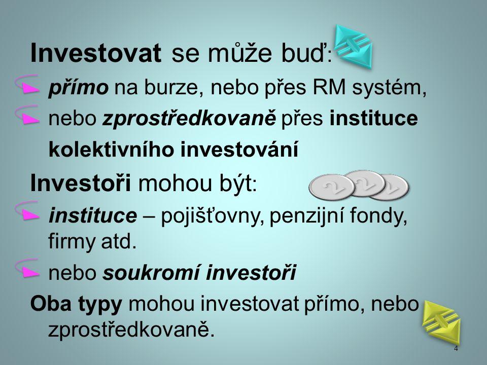 Investiční management je profesionální správa různých cenných papírů (akcie, dluhopisy, atd.) nebo aktiv (např.